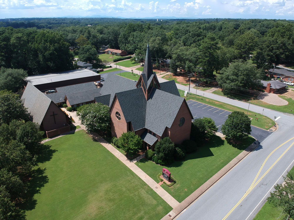 St. Christopher's Spartanburg Aerial View