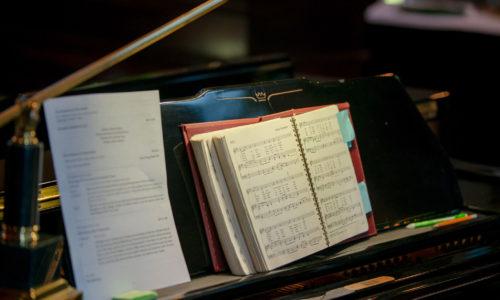 Church Piano and Choir